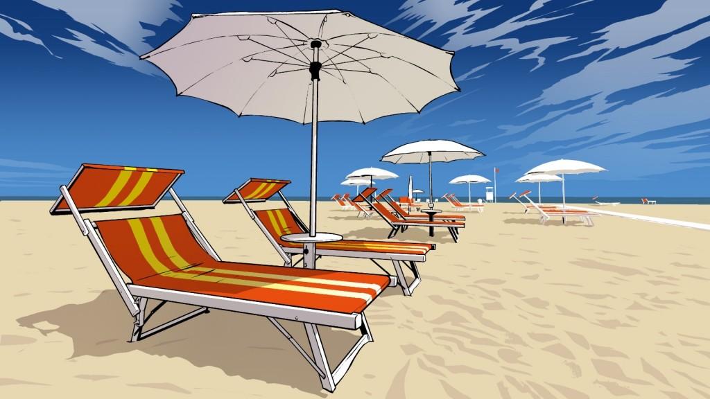 La spiaggia di Bibione (Immagine: Verona prima)